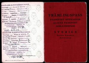 Sverige tog emot oss, gav oss Främlingspass och en omgång kläder.